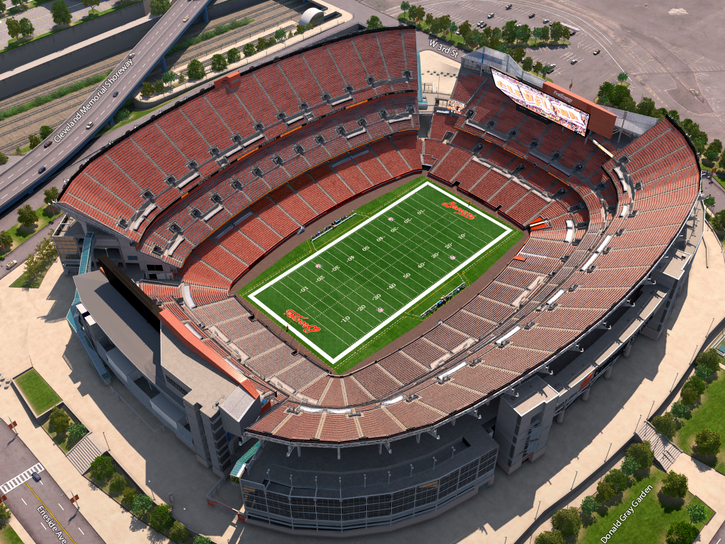 Cleveland Browns Virtual Venue™ by IOMEDIA on